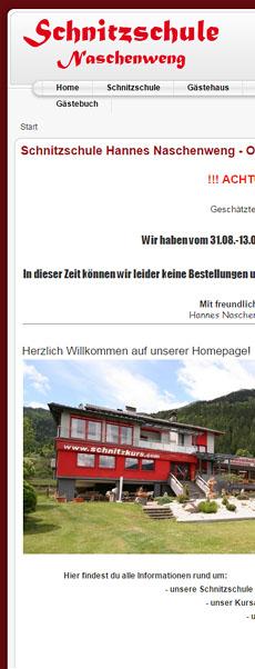 Schnitzschule Naschenweng