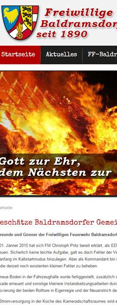 Freiwillige Feuerwehr Baldramsdorf