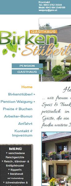 Birkenstüberl & Pension Waiguny