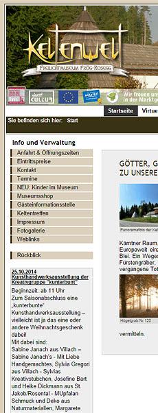 Keltenwelt - Freilichtmuseum Frög-Rosegg