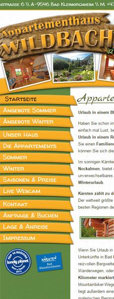 Appartementhaus Wildbach